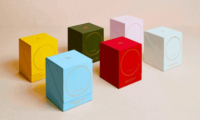 Moodcast Candle Package Designs
