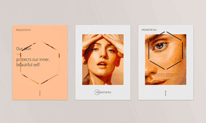 MD Aesthetica's Dynamic Promotional Prints Are Trendy And Minimal