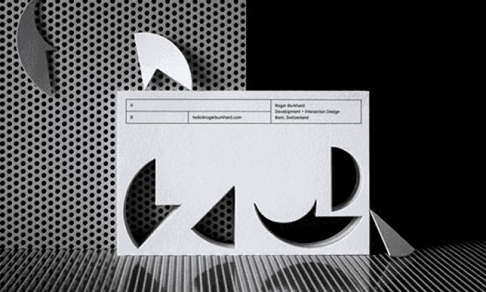 Roger Burkhard's Industrial Brand Identity Gives Strong Roots To The Company