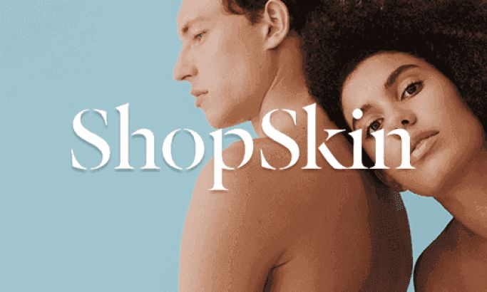 ShopSkin's Clean Web Page Incorporates Stunning Imagery & Interactive Features