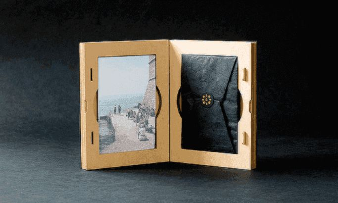 Bayly & Moore's Moody Photo Packaging Keeps Wedding Memories Alive