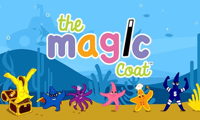 The Magic Coat Colorful Web Design