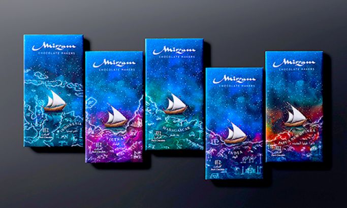Mirzam's Dreamy Packaging Captures Consumers With Ethereal & Unique Illustrations