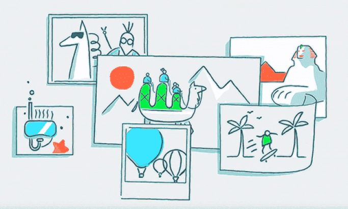 Dropbox's Highly Personal Explainer Informs Users About The Brand With Bright & Airy Animations