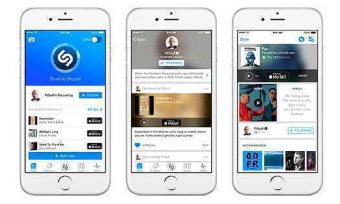 Shazam App Design