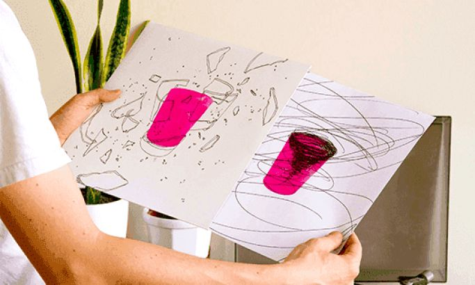 Relicários de São Tolosa's Abstract Vinyl Record Designs Make Music A Visual Experience