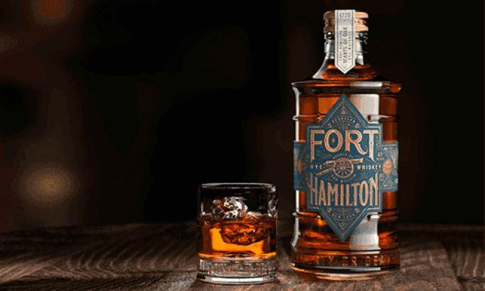 Fort Hamilton Rye Whiskey Design