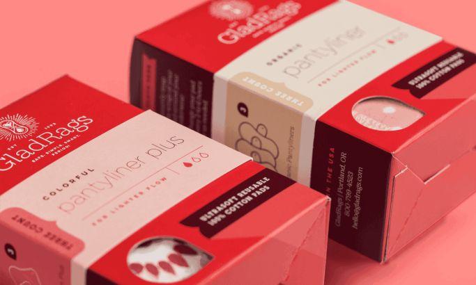 Gladrags Package Design