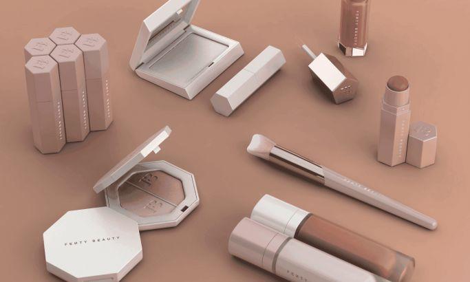Rihanna Fenty Beauty Makeup Packaging