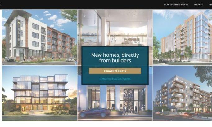Edgewise real estate website design
