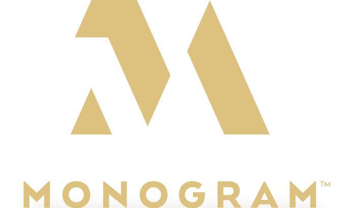 The Monogram Logo's Minimalist And Classy Design Modernizes A Traditionally-Oriented Niche