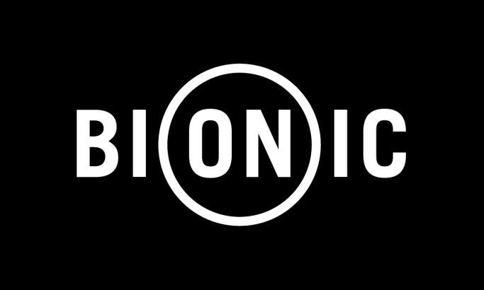 Bionic logo monochromatic version