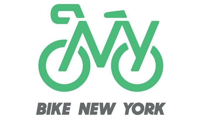 Bike New York's Logo Reflects NYC's Forward-Thinking And Sustainable Mindset