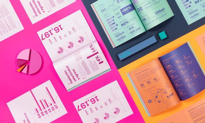 Reset's 2019 annual report for UDEM print design