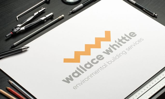 Wallace Whittle logo design by Launch Digital