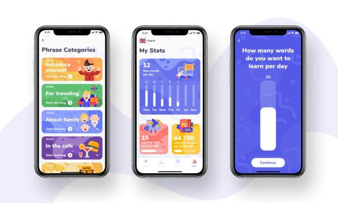 Akler app design by Rocketech
