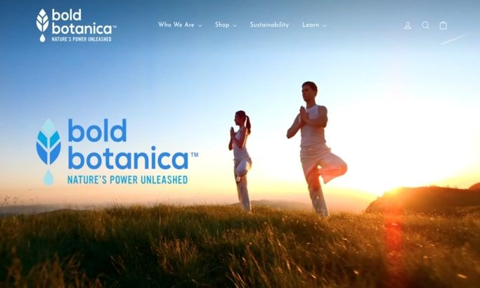 Bold Botanica Website Design