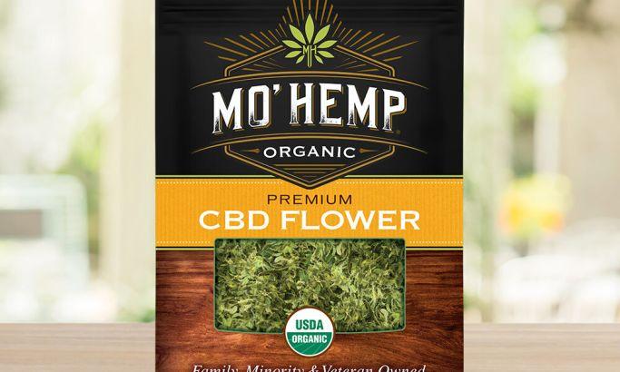 MoHemp CBD's Packaging Design Blends Premium Quality With Its Natural Origin To Pop Off The Shelf