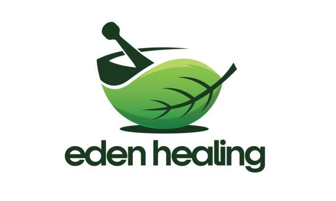 Eden Healing logo design by DBO Agency