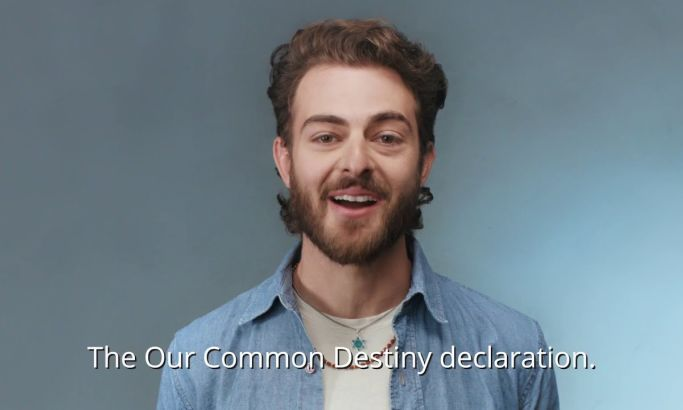 Our Common Destiny Video Design Encapsulates Unity In Diversity With Well-Paced Frame Work