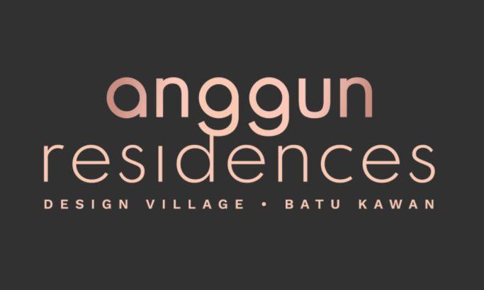 Anggun Residences logo design