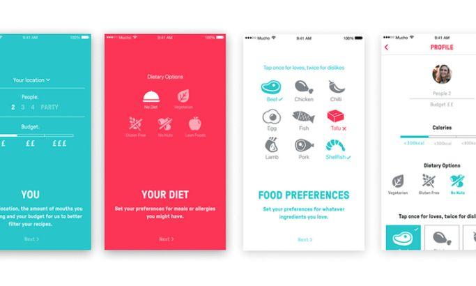 Mucho App Design