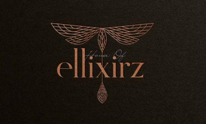 House Of Ellixirz Logo Design
