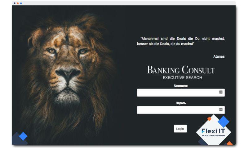 Flexi IT - Banking Consult - Custom CRM System