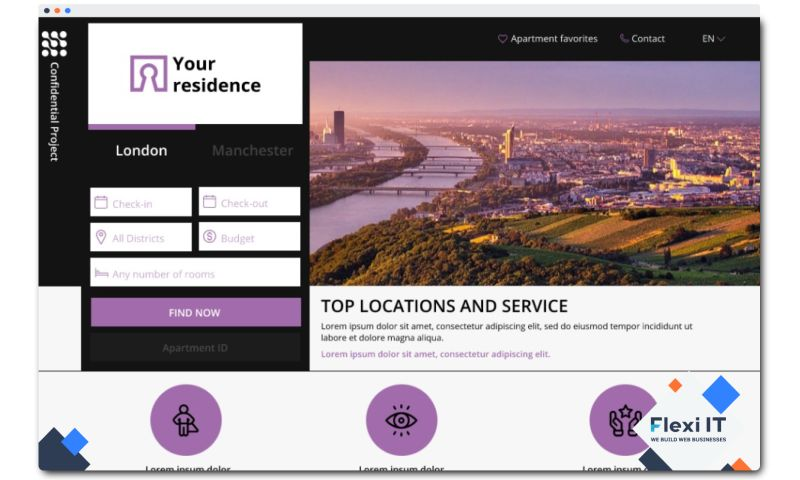 Flexi IT - Real Estate CRM System