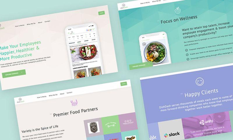 Adamo Digital - Food Ordering App and Website - DishDash