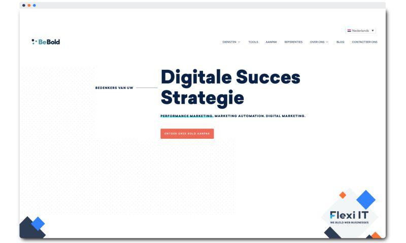 Flexi IT - Website for the Digital Marketing Company