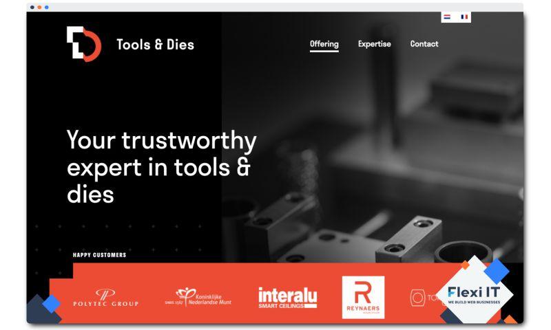Flexi IT - Tools & Dies Engineering - Corporate Website