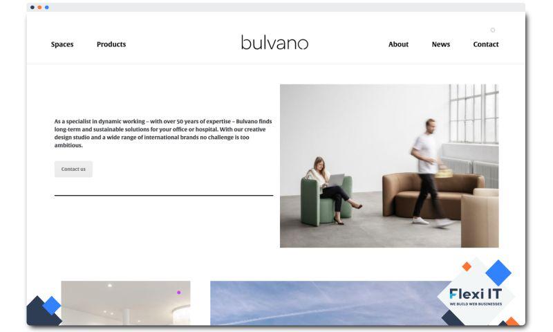 Flexi IT - Bulvano - Corporate Website