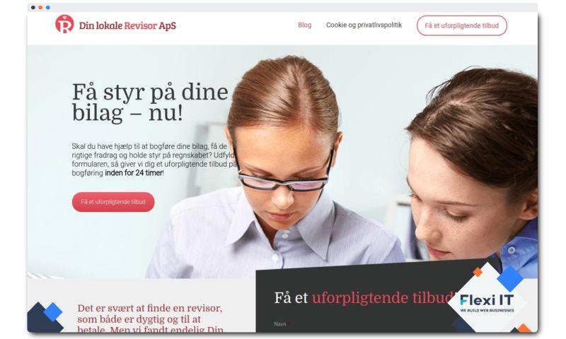 Flexi IT - Lokal Revisorer - Corporate Website