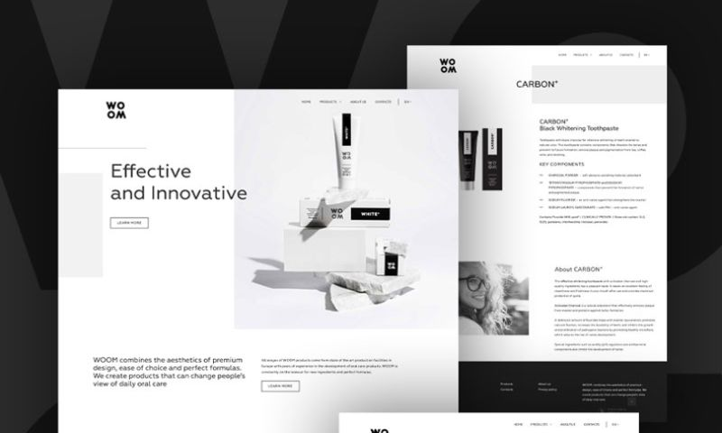 SMARTi - SMARTi has developed a website for the Latvian production of dental products.