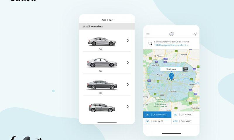 Rubyroid Labs - Car wash booking app - Volvo