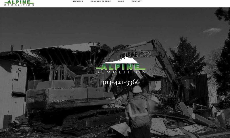 ExcitedEYE CORP - Alpine Demolition