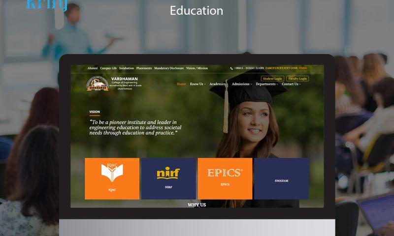 Krify Software Technologies Pvt. Ltd. - Vardhaman College of Engineering