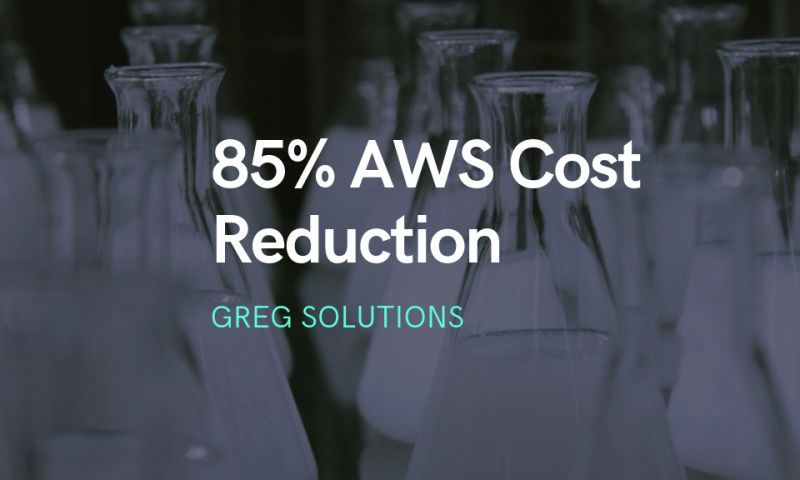 Greg Solutions - DERMPRO: 85% AWS Infrastructure Cost Reduction
