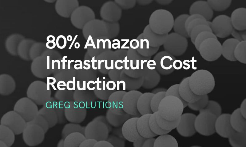 Greg Solutions - 80% Amazon Infrastructure Cost Reduction