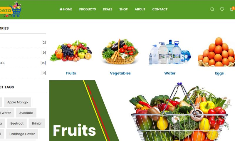Alpha IT Solution - e-Asbeza ecommerce platform