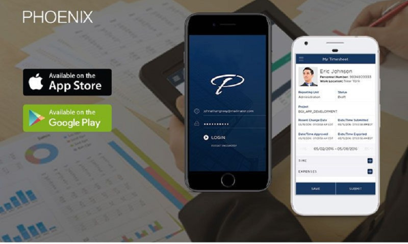 Matellio Inc. - Phoenix Time & Expense: Payroll Management & Reporting Tool