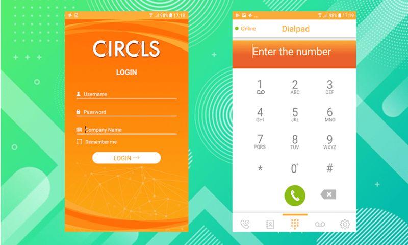 Krify Software Technologies Pvt. Ltd. - Circls - Linphone App