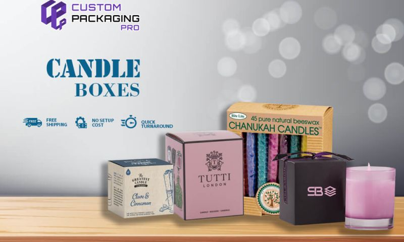 Candle Boxes - Custom Printed Candle Packaging Boxes
