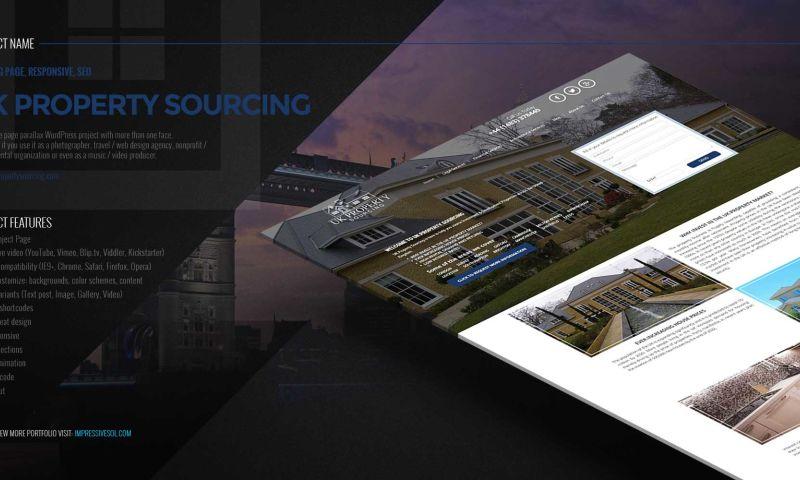 Impressive Sol - UK Property Sourcing Website Designing and Development and Marketing