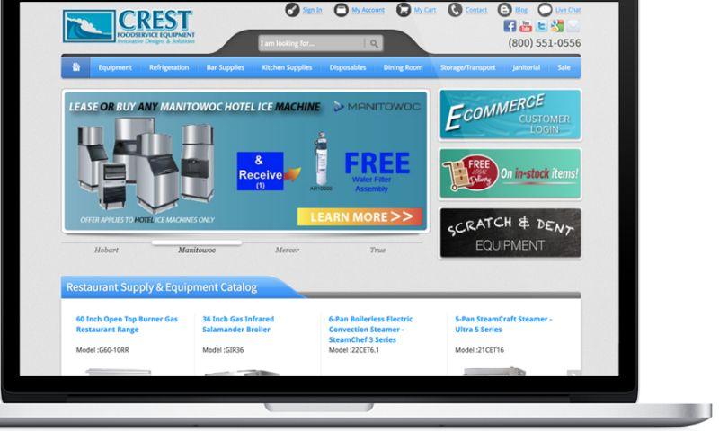 Aaalpha - Crest - Ecommerce Website