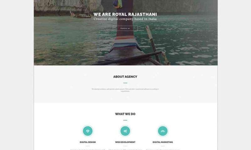 YashaaGlobal - Tourism Website Design