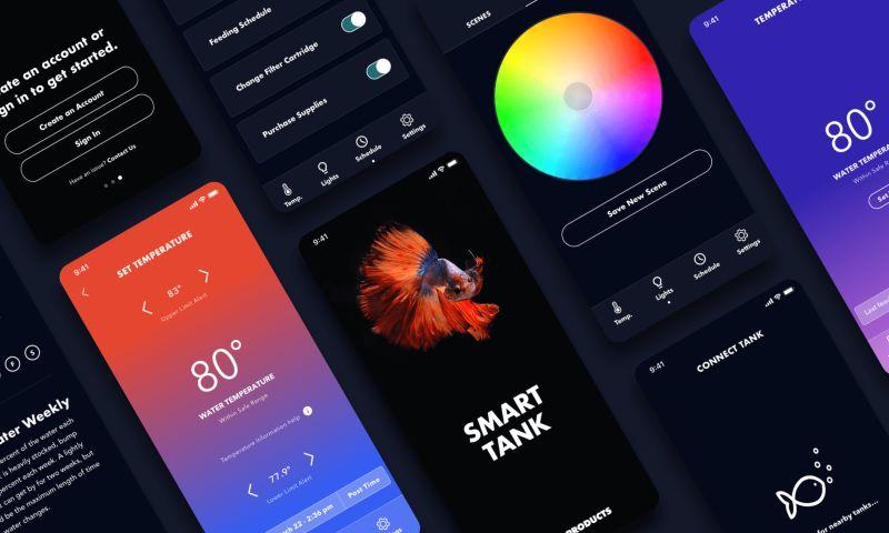 Very - Building an IoT Fish Tank and Cross-Platform App