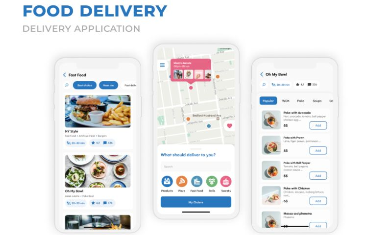 2muchcoffee - Food Delivery App