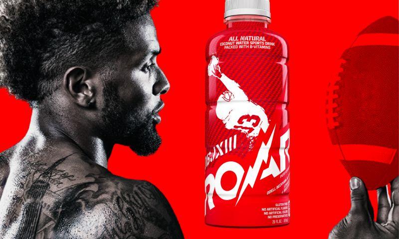 Andon Guenther Design LLC - Roar Beverages Odell Beckham Jr. Signature Sports Drink Packaging